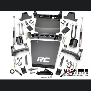 "Chevy Silverado 1500 4WD Suspension Lift Kit w/ Strut Spacers - 7"" Lift - Stamped Steel"